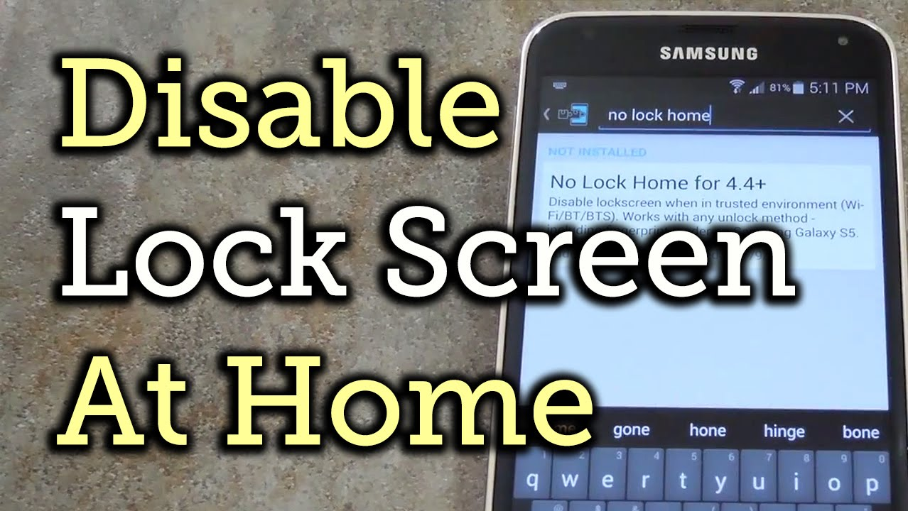 Securelock android