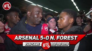 Arsenal 5-0 Nottingham Forest | Saka Looked Hungry When He Came On! (Deluded Gooner)