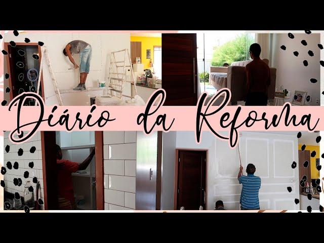 DIÁRIO DA REFORMA - boiserie, armário na dispença, pintura e móveis novos