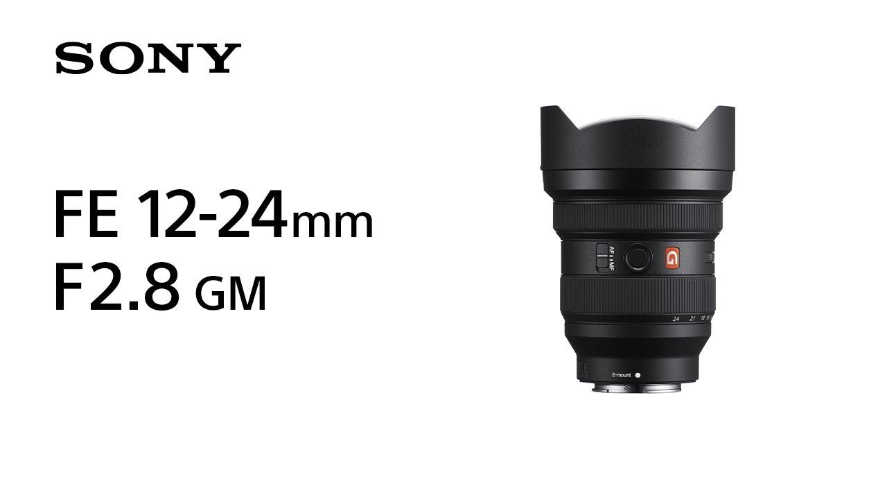 Introducing FE 12-24mm F2.8 GM   Sony   Lens