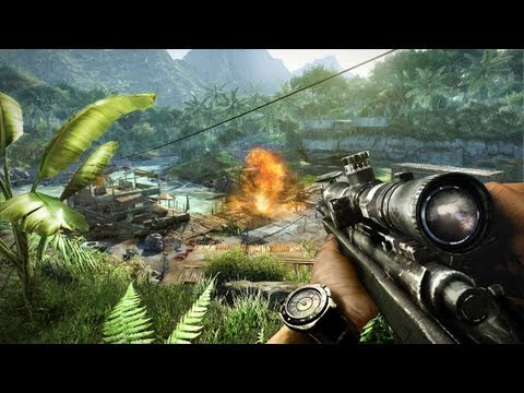 Far Cry 3 Weapons Trailer [North America]