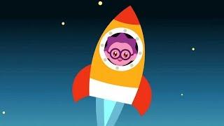 МАЛЫШАРИКИ -  Воздушный транспорт ✈(Умные песенки🎷) развивающие и обучающие мультики для детей