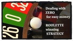 Make money on zero: Dealing with ZERO :  0  :  Roulette WIN tricks for more profit