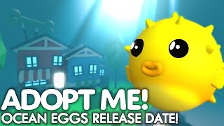 Ocean Eggs RELEASE DATE Is CONFIRMED! Adopt Me Ocean Eggs UPDATE!