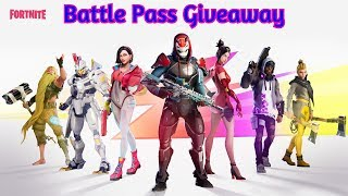 Fortnite Saison 9 Battle Pass Giveaway