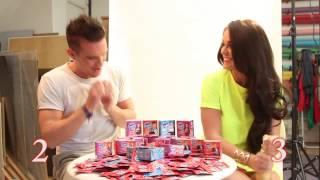Gaz and Vicky Geordie Shore - The Skin Condom Parsnip Challenge