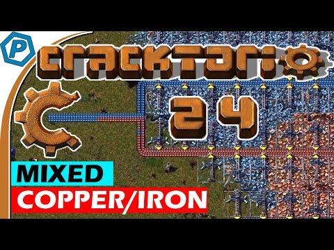 Factorio | Cracktorio 2: Crack Harder | Mixed Copper & Iron | 24