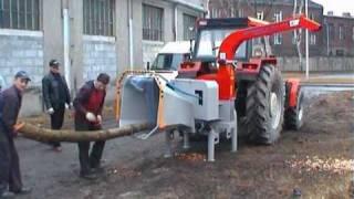 Repeat youtube video Rębak Skorpion 250R Tekanmotor (wood chipper)