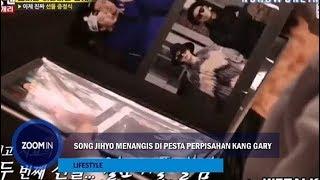 Song Ji-hyo Menangis di Pesta Perpisahan Kang Gary