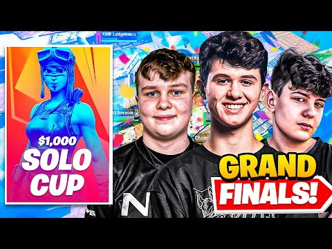 I Hosted GRAND FINALS for $1,000 SOLO Tournament in Fortnite (Clix, FaZe & more!)