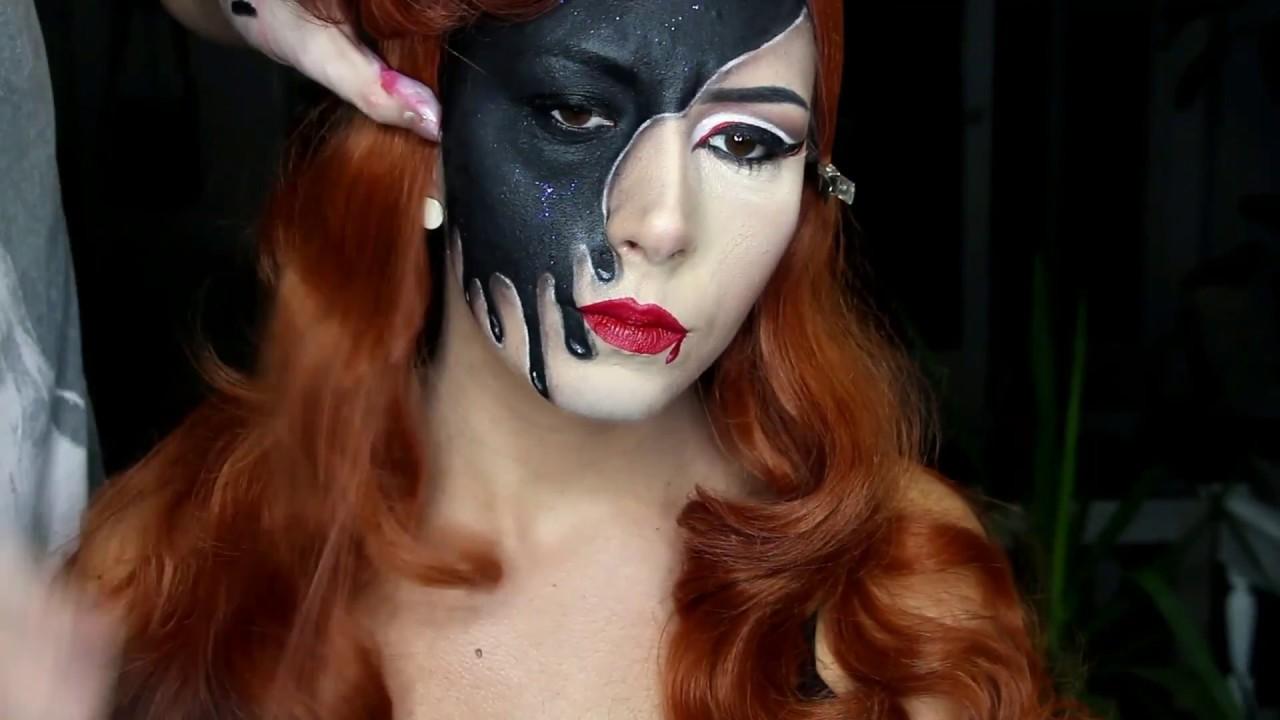 sminka za noc vestica/helloween makeup - youtube