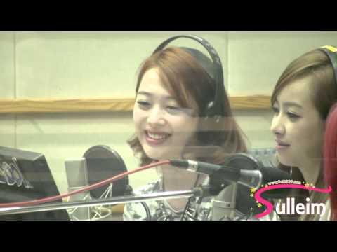 130729 KBS 2FM 슈퍼주니어의 KISS THE RADIO f(x) 설리