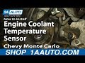 How to Replace Coolant Temperature Sensor 81-05 Chevy Monte Carlo