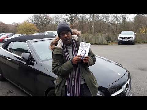 Adrian Scott supporting Terry Dunnage autobiography Road To Recovery