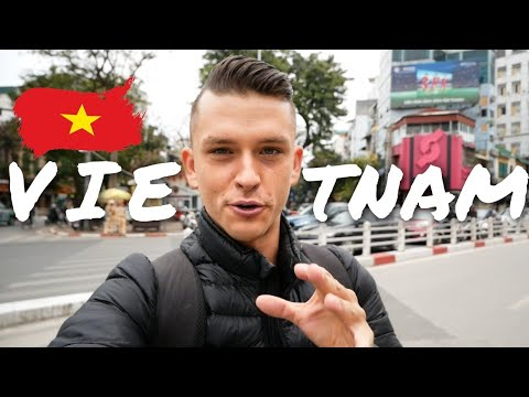 First Impression of Vietnam, Hanoi - Didn´t expect this...