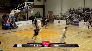 3point shot rain in BK Ogre and Betsafe Jūrmala duel