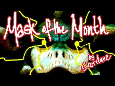 MASK OF THE MONTH (APRIL) : The Gorgon Medusa