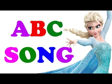 Frozen Alphabet ABC Song | English Alphabet | Learn the ABC's | HD