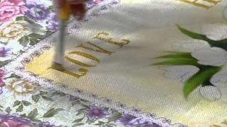 Pintura em tecido, tema bike love – Ana Laura Rodrigues PT1