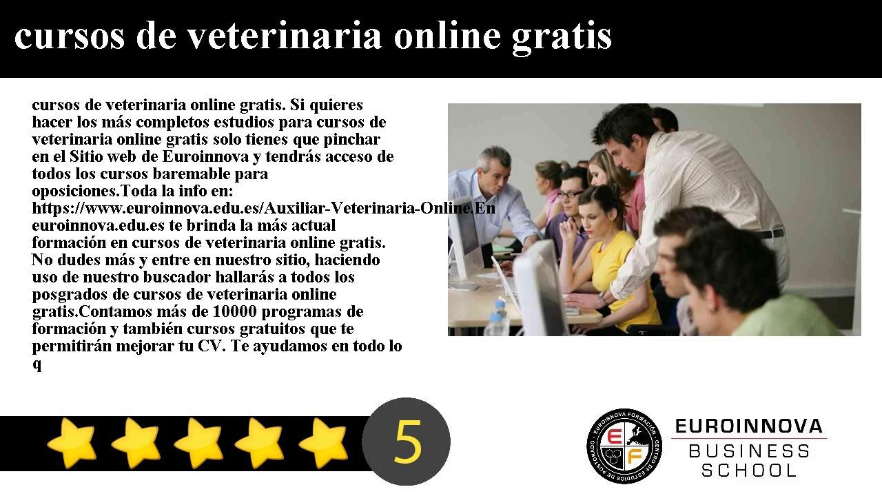 cursos de veterinaria online gratis - YouTube
