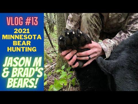 Minnesota Bear Hunting Vlog 13 | Bears for Jason and Brad