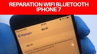 🇫🇷 Réparation Probleme wifi iPhone 7 (Tuto) Apple