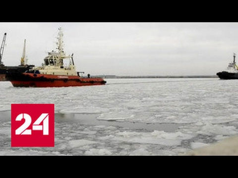 Украинский флот вмерз