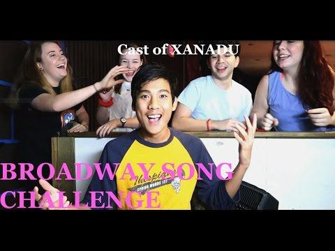 Broadway Song Challenge ft. Cast of Xanadu Musical !!!