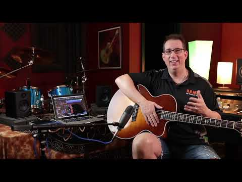 Recording in Studio One Made Easy: Recording Acoustic Guitar