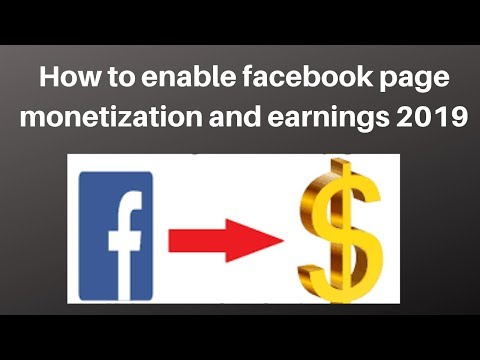 How to enable facebook page monetization and earnings 2019   Digital Marketing  Tutorial thumbnail