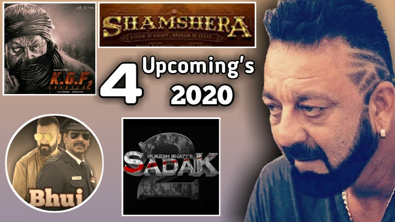 Sanjay Dutt Upcoming Movies 2020 | Sadak 2 Trailer ...