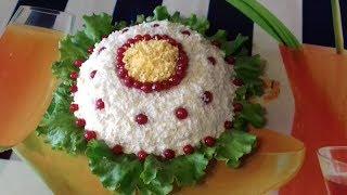 Салат рыбный, с тунцом//Очень Вкусный и простой рецепт// Как для праздника,так и  на каждый день