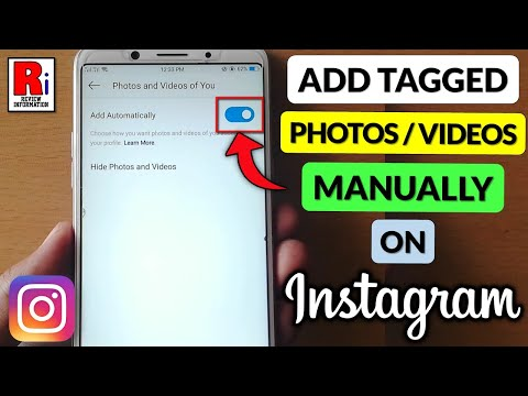 How can i see tagged photos on instagram