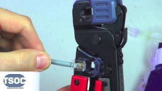 How to Terminate an RJ11 Modular Crimp Connector - The TSOC™ Minute (ep. 1)