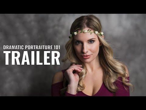 "TRAILER ""Dramatic Portraiture 101"" | Full Length Tutorial On Sale Now! thumbnail"