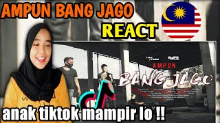 AMPUN BANG JAGO - TIAN STORM x EVER Slkr ( Official music video ) | Malaysia 🇲🇾 Reaction