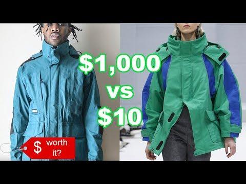 Cheap vs Expensive (Is It Worth It?)| Balenciaga Jacket | Mens Fashion & Streetwear