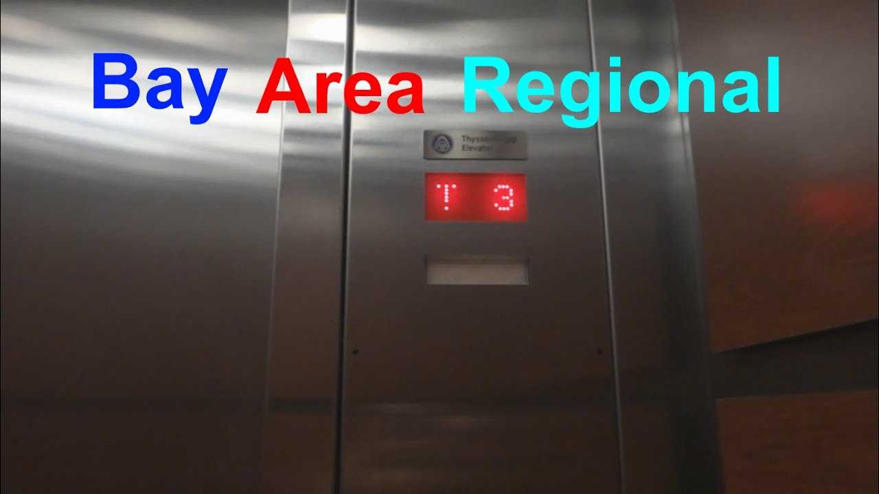 Thyssenkrupp Traction Elevators At Bay Area Regional Medical Center