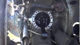 Разобранный двигатель Ан-2 с применением MPG