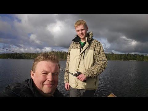 Fishing & More am Saimaa-See (Finnland 2014)