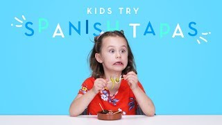 Kids Try Spanish Tapas | Kids Try | HiHo Kids