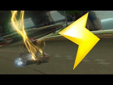 Mario Kart 8 Deluxe Lightning Bolt Dodge & Use Montage