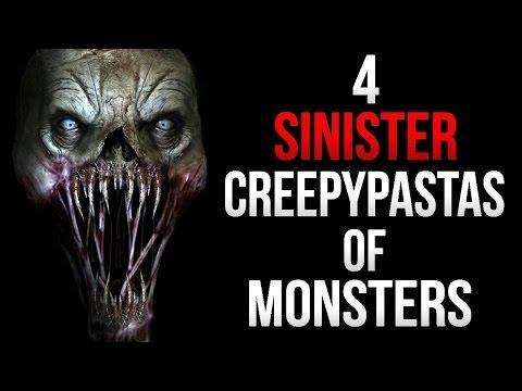 4 Sinister Creepypastas of Monsters