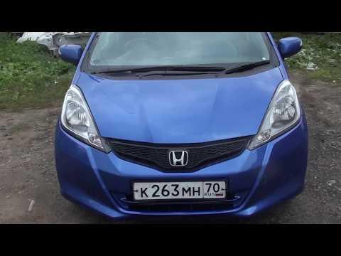 Honda Fit  Ремонт бампера и покраска