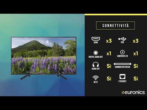 Sony | Smart TV | LED 4K UHD HDR | 43XF70