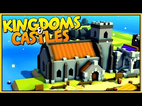 PRAY TO TWISTED TO SURVIVE THE VIKING INVASION - Let's Play Kingdoms and Castles Gameplay