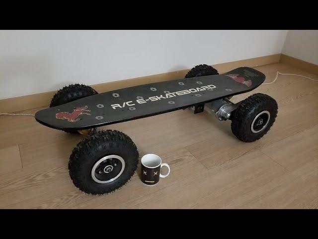 E-Skateboard 18650-fied ::Stage 4:: Smoke test