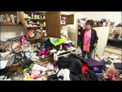 Hoarder Denise's House Tour  Hoarding: Buried Alive