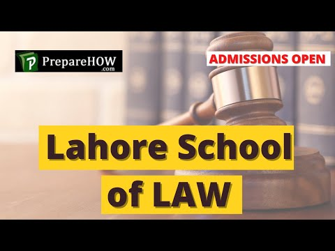 School of Law Lahore -  Admission OPEN!! - How to Apply - Complete Procedure - LLB  LLM - LAW School