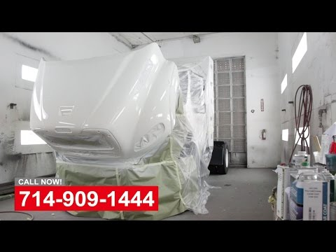 Truck Collision Repair Paint Shop Orange County California